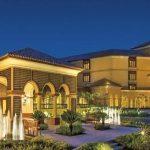 Ritz Carlton Hotel in Dubai marina