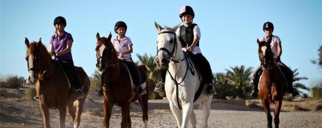 Horse Riding in Al Sahra Desert Resort
