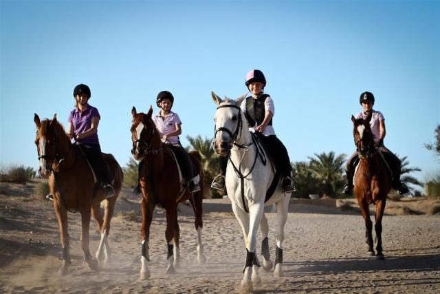 Horse Riding in Al Sahra Desert Resort