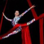 aerial silk acrobatics dubai