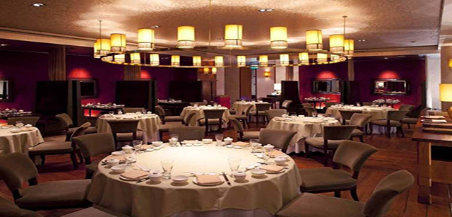 Shang Palace Chinese restaurants in Dubai