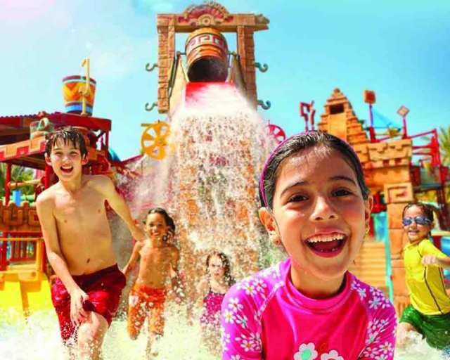 adventure waterpark dubai