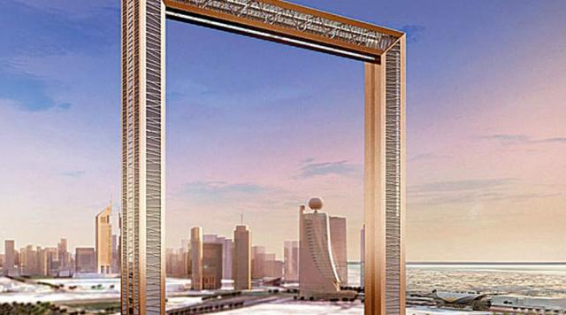 Dubai City Frame