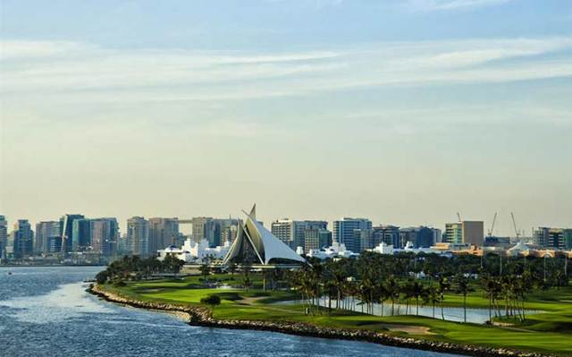Dubai Golf Course Image