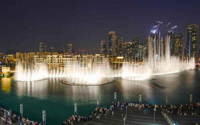 Dubai Fountain Image