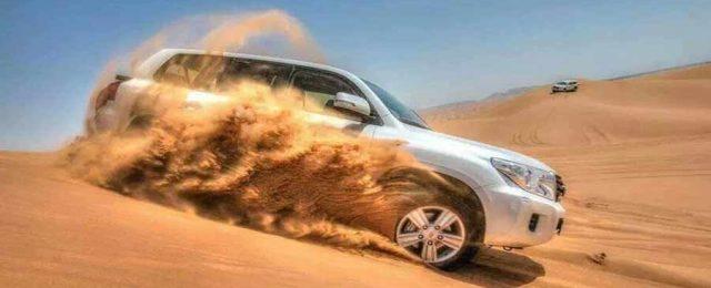 Dubai desert safari Dune Bashing
