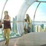 capsules of Ain Dubai Ferris Wheel