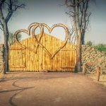 Love lake Dubai Entrance gate