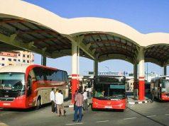 Dubai to Abu Dhabi Bus