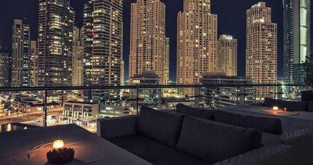 atelier m rooftop bar dubai