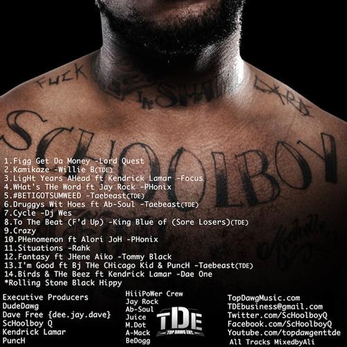 Q Cover Schoolboy 2014 Cd