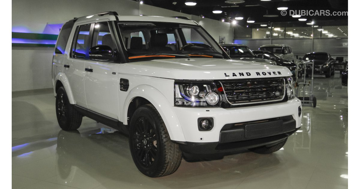 Land Rover LR4 Black Pack For Sale AED 240000 White 2015
