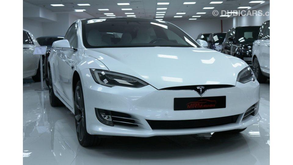 تيسلا Model S TESLA MODEL S-P100 D-2017-10000 KM للبيع: 360.000 درهم. أبيض. 2017