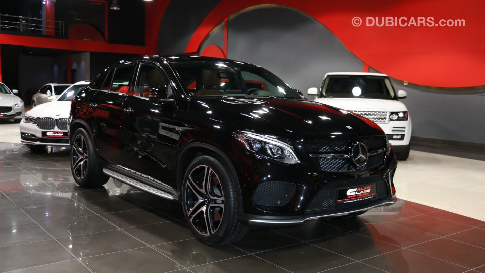 Mercedes Benz GLE 43 AMG For Sale AED 370000 Black 2017