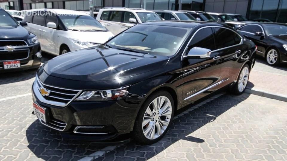 Chevrolet Impala LTZ V6 For Sale AED 92000 Black 2015