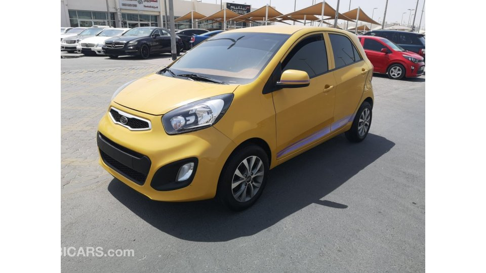 Kia Picanto For Sale Aed 13 000 Yellow 2012
