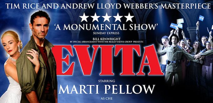 Evita being performed in Dublin this February