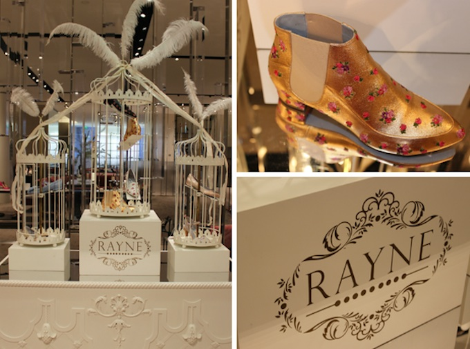 Rayne Shoes at Brown Thomas in Dublin