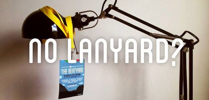 Get your Beatyard lanyard now!