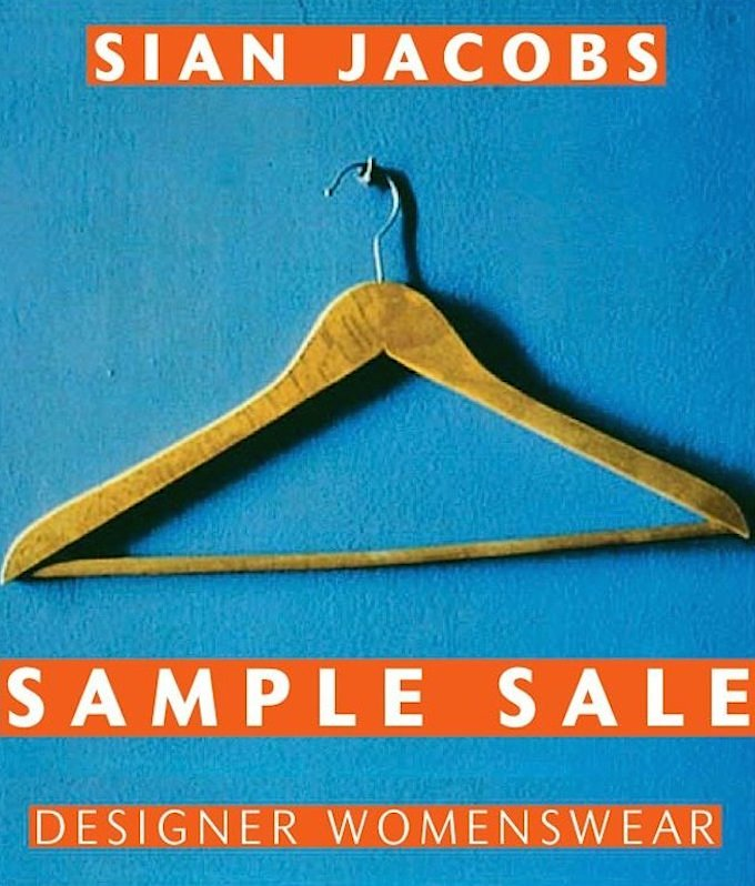 Sian Jacobs Sample Sale in Dublin