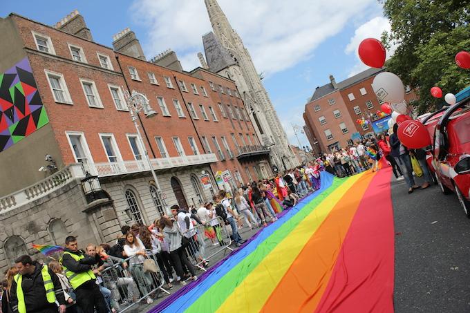 Dublin Pride Parade 2014 Parnell Square