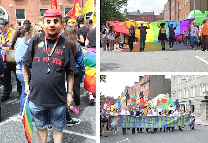 Pride Parade 2014 in Dublin