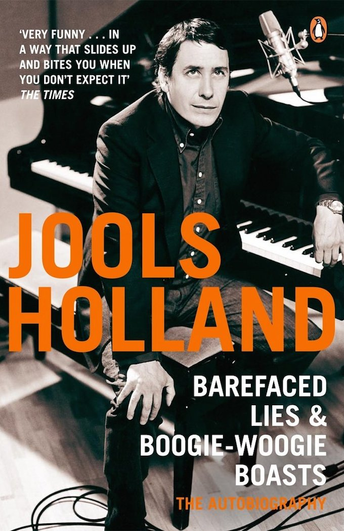 Jools Holland autobiography
