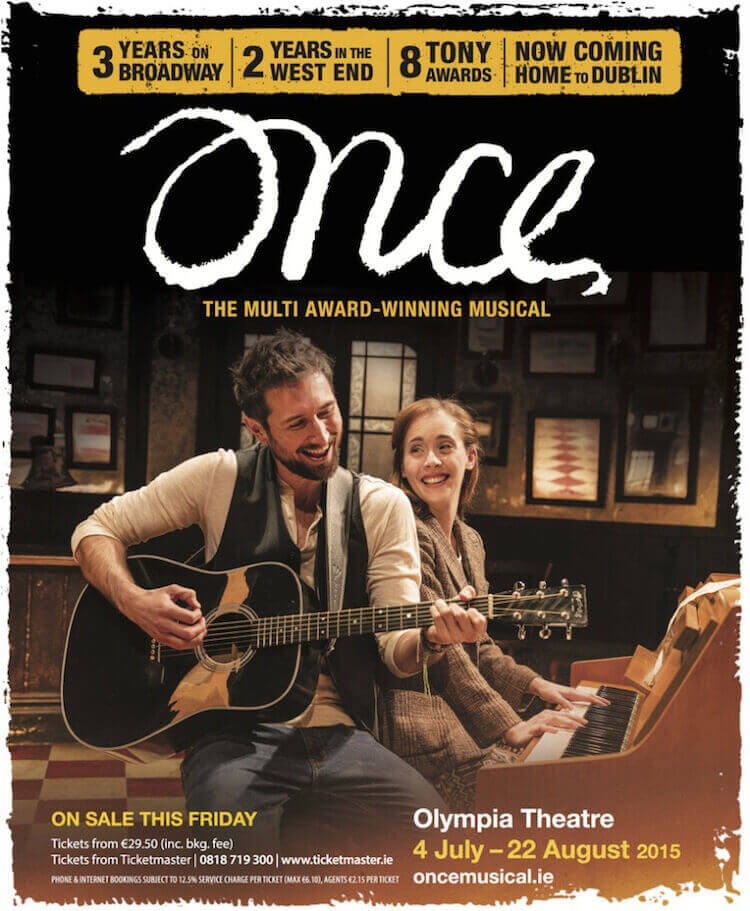 Once the Musical at the Olympia in Dublin