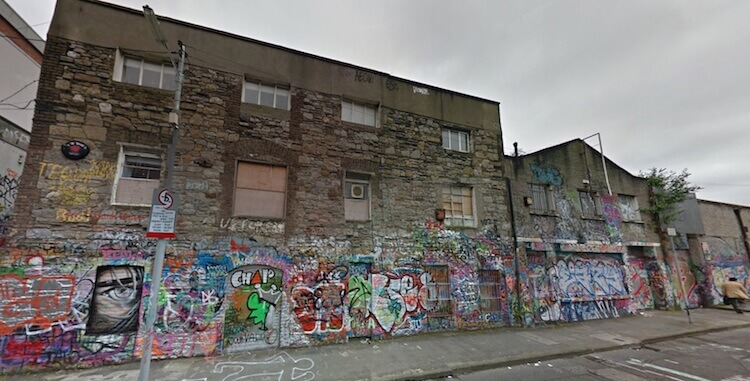 reusing dublin finds vacant underused space in windmill lane in dublin