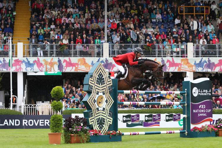 Discover Ireland Dublin Horse Show