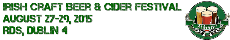 Irish Craft Beer & Cider Fest 2015