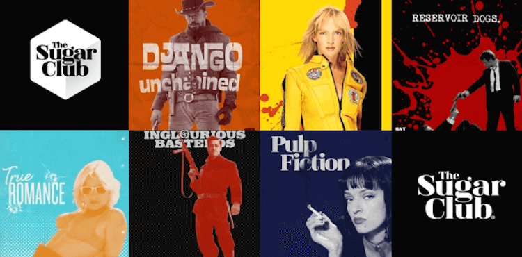 tarantino movies at the sugar club