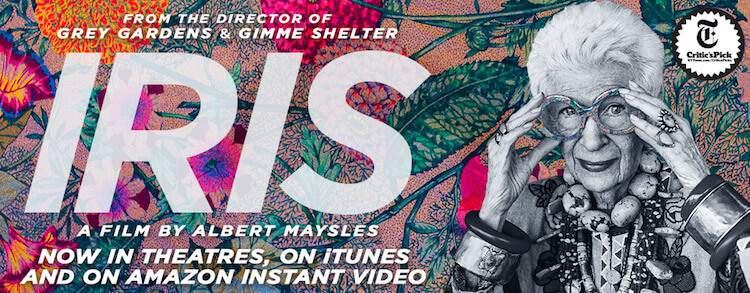 Iris the movie banner advert