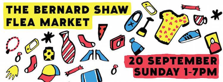Bernard Shaw Flea Market Sept 15