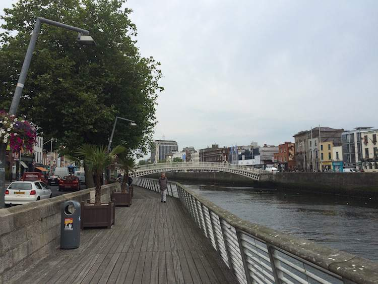 The Liffey Boardwalk, Dublin