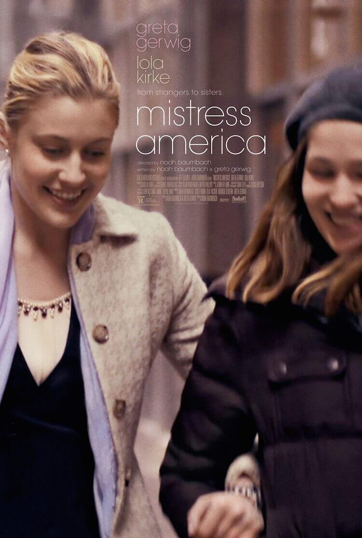 Mistress America movie poster