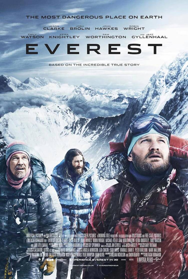 Everest movie poster 2015