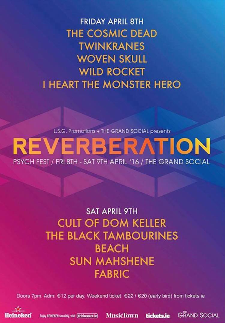 Reverberation at The Grand Social in Dublin