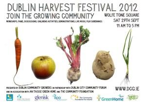 Dublin Harvest Festival 2012 Poster