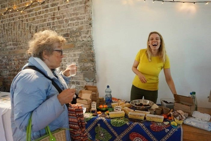 Dublin Make Me Market Stand at Smock Alley