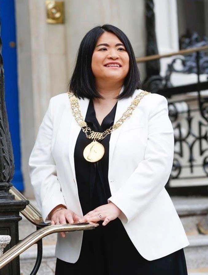 Lord Mayor Hazel Chu
