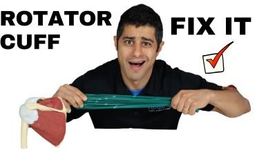 Rotator Cuff Injury (Treatment & Management)