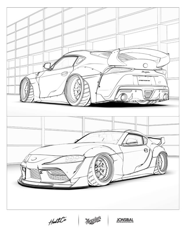 Meguiar's Coloring Book