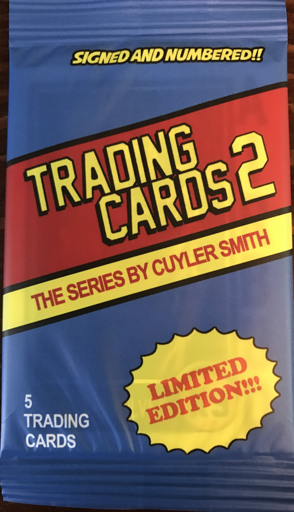 Mail Day Review – Cuyler Smith Trading Cards Series 2