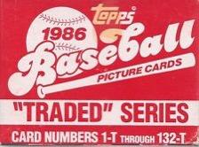 1986 Topps Traded – Heeeerrrrrreeee's Jose!