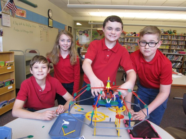Four Elementary Students Compete Stem Event Clarion