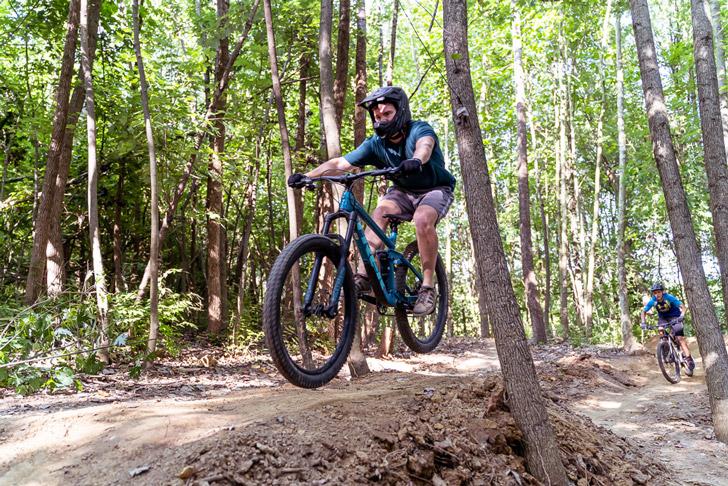 Take a ride on the Birk & Berg Bike Track