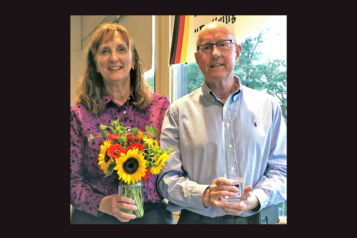 Paul and Laura Grammer honored with 2021 German Heritage Award