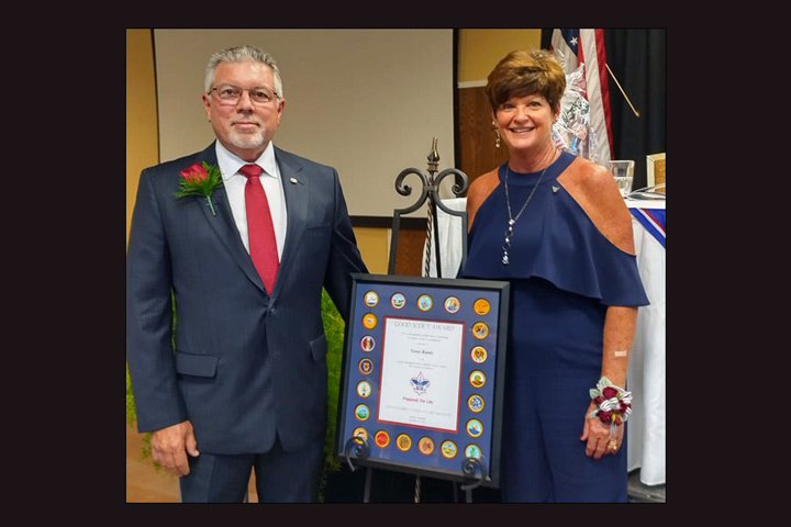 Boy Scouts of America Honors WITZ's Gene Kuntz with Distinguished Citizen Award