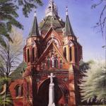 Radek Důbravný - Kostel Navštívení Panny Marie v Poštorné